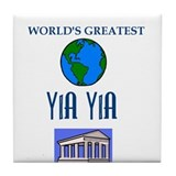 Yia Yia Tile Coaster