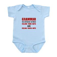 Grammar Nuts Body Suit