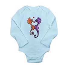Sea Horse Kiss Body Suit
