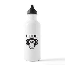 Code Monkey Water Bottle