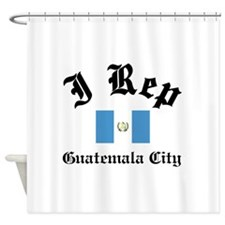 I rep Guatemala City Shower Curtain