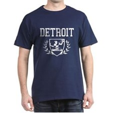 Spirit of Detroit Crest T-Shirt