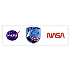 Interstellar Boundary Explorer Bumper Sticker