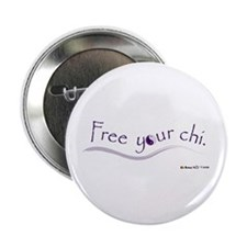 "Free Your Chi 2.25"" Button (100 pack)"