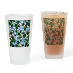 Waterlily reflections Drinking Glass