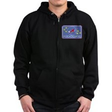 Flight Patch Zip Hoodie