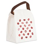 Kiss this! Canvas Lunch Bag