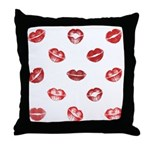Kiss this! Throw Pillow
