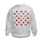 Kiss this! Kids Sweatshirt