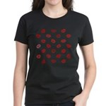 Kiss this! Women's Dark T-Shirt