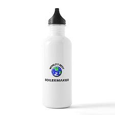 World's Best Boilermaker Water Bottle