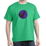 Doxie the Dachshund - Purple T-Shirt