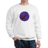 Doxie the Dachshund - Purple Sweatshirt