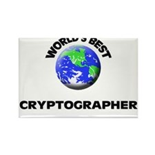 World's Best Cryptographer Rectangle Magnet