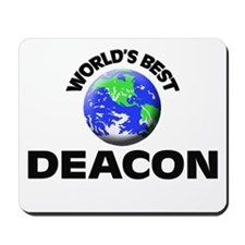 World's Best Deacon Mousepad