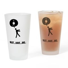 Barbecue Lover Drinking Glass