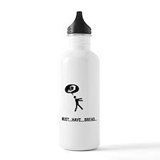 Bread Lover Sports Water Bottle