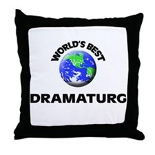 World's Best Dramaturg Throw Pillow