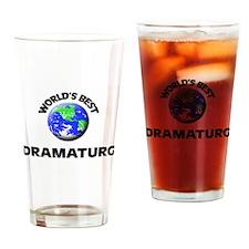 World's Best Dramaturg Drinking Glass