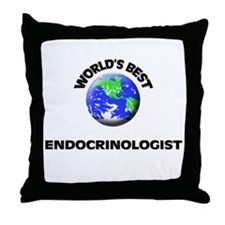 World's Best Endocrinologist Throw Pillow