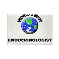 World's Best Endocrinologist Rectangle Magnet