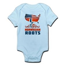 American Norwegian Roots Body Suit