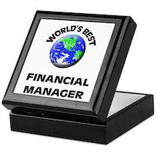 World's Best Financial Manager Keepsake Box