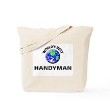 World's Best Handyman Tote Bag