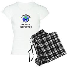 World's Best Health Inspector Pajamas