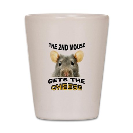 2ND MOUSE Shot Glass