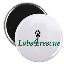 "Labs4rescue 2.25"" Magnet (10 pack)"