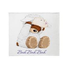 Bear Lamb Throw Blanket