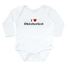 I Love Oktoberfest Body Suit