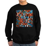 Klimtified! - Rust/Turquoise Sweatshirt (dark)