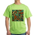 Klimtified! - Rust/Turquoise Green T-Shirt