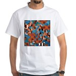 Klimtified! - Rust/Turquoise White T-Shirt
