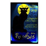 Cabaret du Chat Noir Postcards (Package of 8)