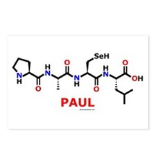 Paul molecularshirts.com Postcards (Package of 8)