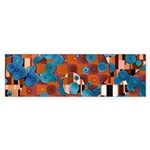 Klimtified! - Rust/Turquoise Sticker (Bumper 10 pk