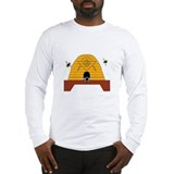 Masonic Bee Hive Long Sleeve T-Shirt
