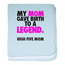 Baby Legend - Pink baby blanket