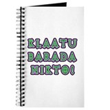 Klaatu Barada Nikto Journal