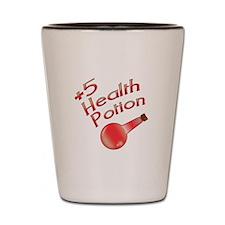 +5 Health Shot Glass