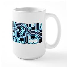 ElecTRON - Blue/Black Mug