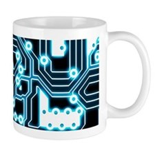 ElecTRON - Blue/Black Mug