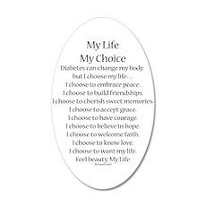 My Life, My Choice Poem (Black) Wall Decal
