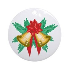 Bells Ringing Ornament (Round)