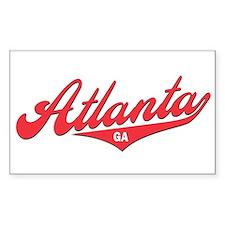 Atlanta GA Rectangle Decal