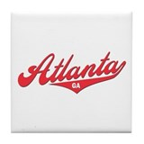 Atlanta GA Tile Coaster