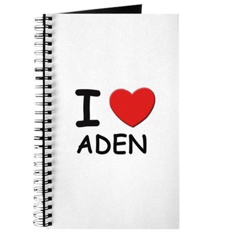 I love Aden Journal